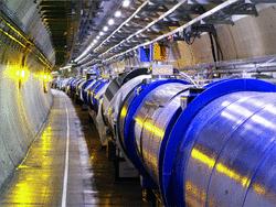 Vue intérieure du LHC