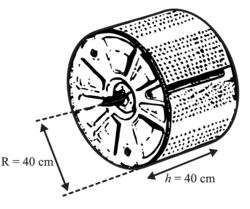Schéma du tambour du lave-linge