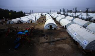 Camp de réfugiés syriens