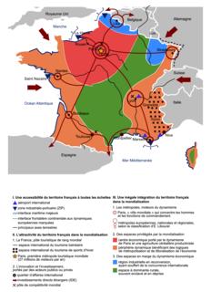 L'organisation du territoire français dans la mondialisation