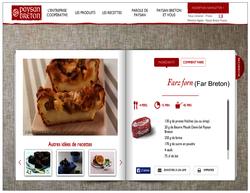 Les recettes Paysan Breton (extrait)