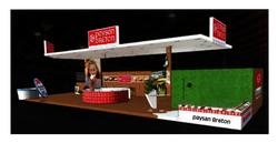 Projet en 3D du stand Paysan Breton